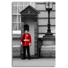 Load image into Gallery viewer, Fine Art Metal Print, Europe Photography, London Royal Guard