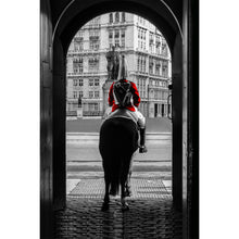 Load image into Gallery viewer, Fine Art Print, London Guard on Horse
