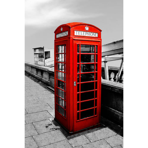 Fine Art Print, London Phone Booth