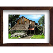 Load image into Gallery viewer, Framed Fine Art Print, California, Rustic Winery