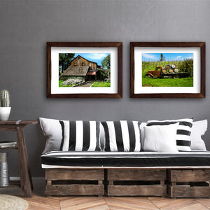 Framed Fine Art Print, California, Rustic Winery