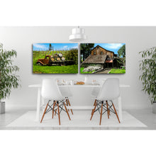 Load image into Gallery viewer, Fine Art Metal Print, Color Photography, California, Wine Country, Old Barn