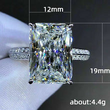 Load image into Gallery viewer, Dazzling Big Square Stone Ring