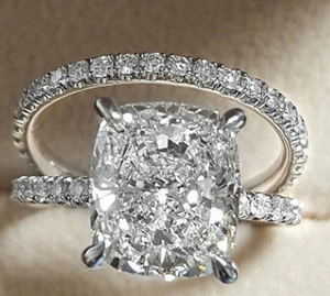 Fashion Diamond Zircon Ring