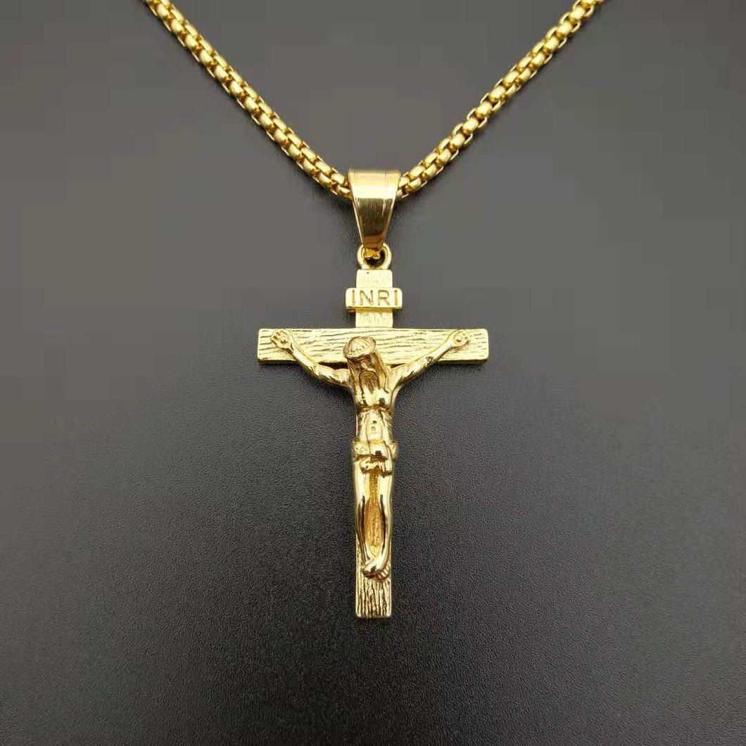 Stainless Steel Cross Pendent