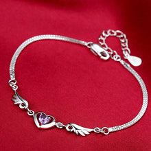 Load image into Gallery viewer, Sterling Silver Guardian Angel Bracelet