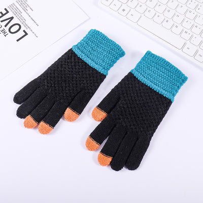 Warm Touch Screen Wool Gloves