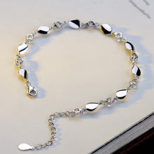 Load image into Gallery viewer, Beautiful Nine Crystal Silver Bracelet
