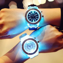 Load image into Gallery viewer, LED Silicone Bracelet Watch