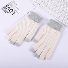 Load image into Gallery viewer, Warm Touch Screen Wool Gloves