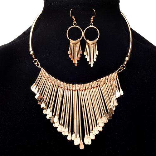 Beautiful Multi-layer Necklace Set