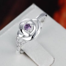 Beautiful Cross-Border Zircon Ring