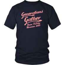 Load image into Gallery viewer, Generations Gather Daise Family Reunion 2019