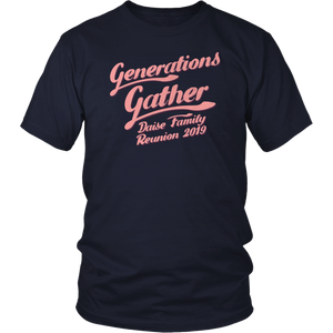 Generations Gather Daise Family Reunion 2019