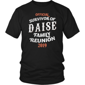 Official Survivor Of Daise Family Reunion 2019