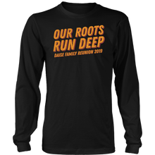 Load image into Gallery viewer, Our Roots Run Deep Daise Family Reunion 2019