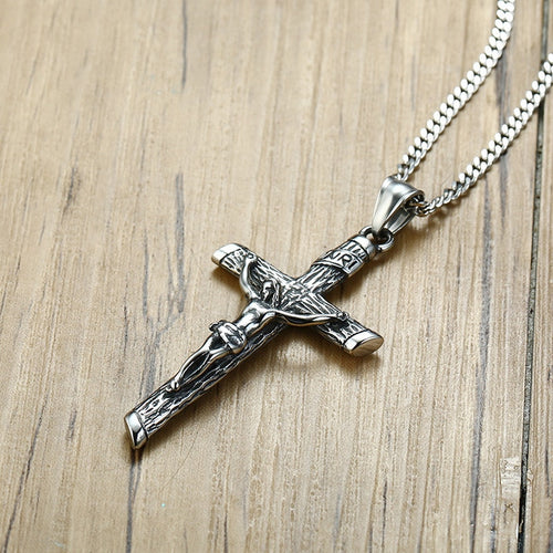 Ancient Silver Cross Necklace/Pendant