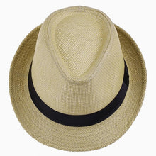 Load image into Gallery viewer, Unisex Beach Straw Sun Hat