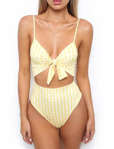 Sexy Chest Bandage Swimwear