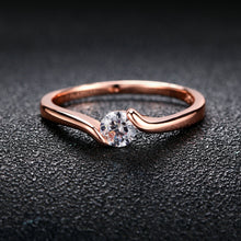 Load image into Gallery viewer, Cubic Zirconia Engagement Ring