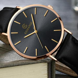 Ultra-Thin Wrist Watch