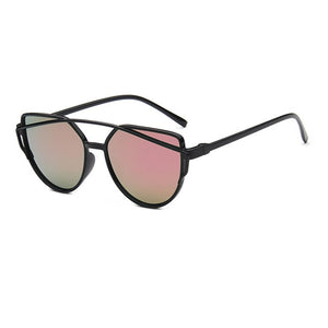 Retro Coating Mirror Sunglasses