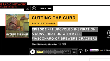UPCYCLED INSPIRATION: Kyle on Cutting The Curd Podcast