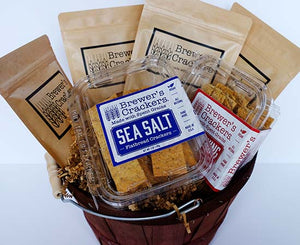 Gift Basket of Brewer's Crackers