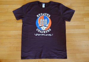 "Brewer's Crackers ""Steal Your Grains"" Short Sleeve T-shirt"