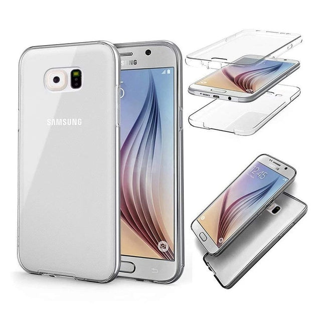 Double Silicone Case Samsung