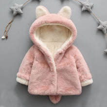 Load image into Gallery viewer, Baby Infant Girls Boys Autumn Winter Hooded Coat Cloak Jacket Thick Warm Clothes