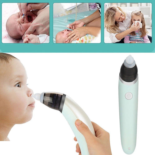 Baby Nasal Aspirator Electric Automatic Nose Cleaner in the Shape of Banana for Newborn