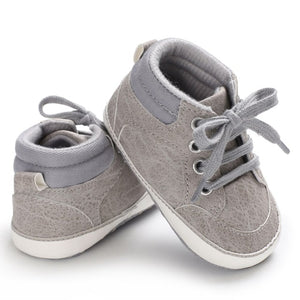 Baby Toddler Soft Sole Leather Anti-slip Shoes Infant Baby Casual Shoes