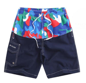 New Children Boys Shorts Camouflage Surf Swimwear 2019 Summer Quick-Dry Board Shorts Kid Beach Shorts Boys Casual Shorts 7-14Y