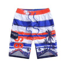 Load image into Gallery viewer, Summer Child Board Shorts Beach Swimwear 100% Cotton Shorts For 7-15T Boys Swim Shorts Printed Teenager Swimming Trunks Swimsuit