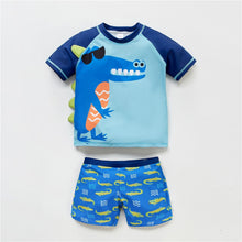 Load image into Gallery viewer, New Fashion Kids Boys Swimming Wear Cool Animals Cartoon Printed Baby Boy Swimsuit Beach Wear Fish Pattern Child Bathing Suit