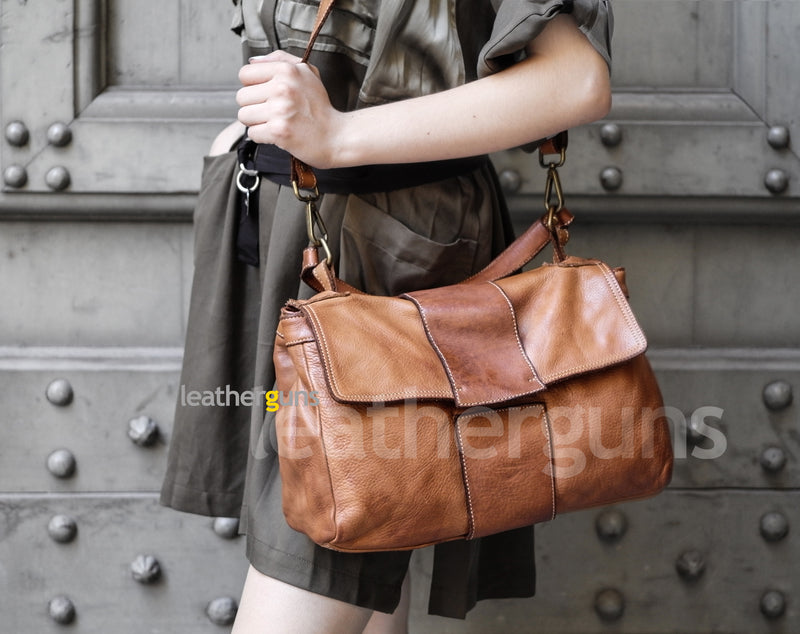 ROBERTA LEATHER HANDBAG