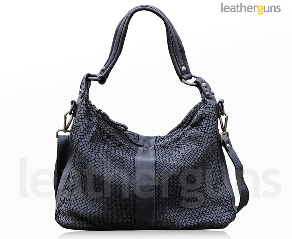 ADELINA LEATHER HANDBAG