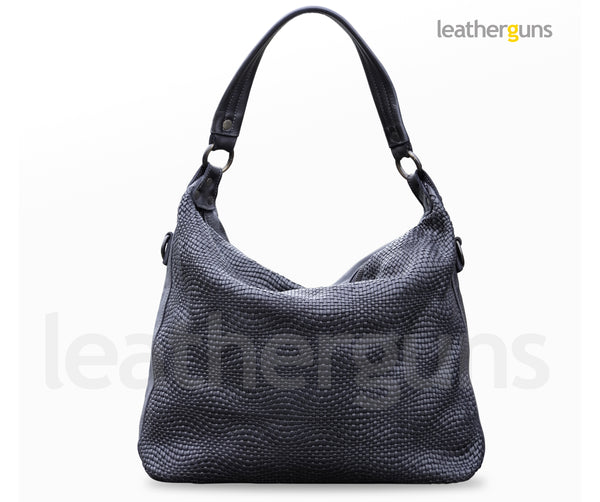 ALESSIA LEATHER HANDBAG