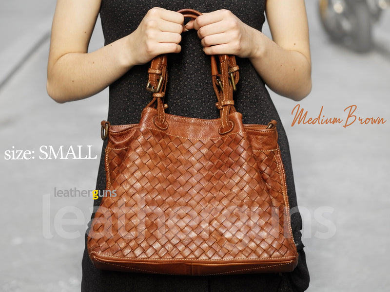AMELIA S LEATHER HANDBAG