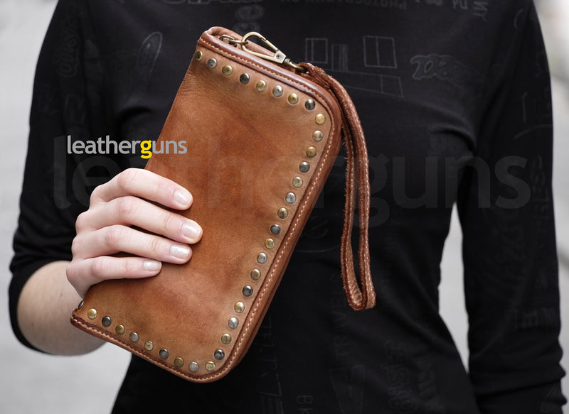 BARBARA LEATHER WALLET Italian Leather Wallet