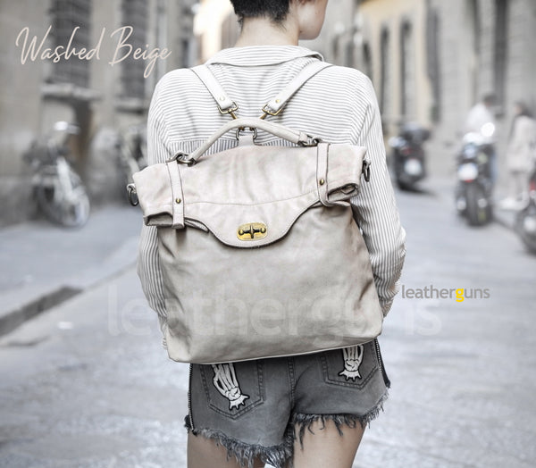 CARLOTTA LEATHER BACKPACK