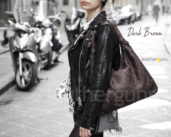 CLARA LEATHER Shoulder BAG