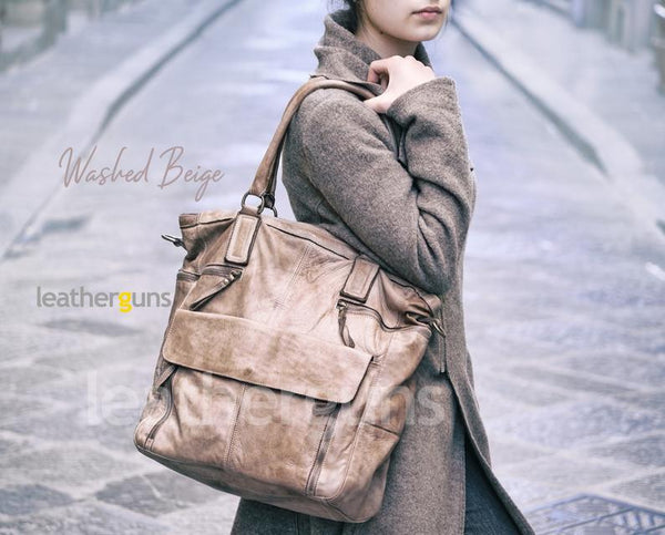 LAURA LEATHER LAPTOP Bag