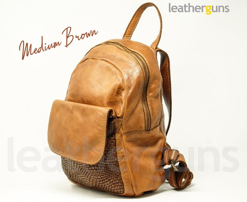 CAMILLA LEATHER BACKPACK