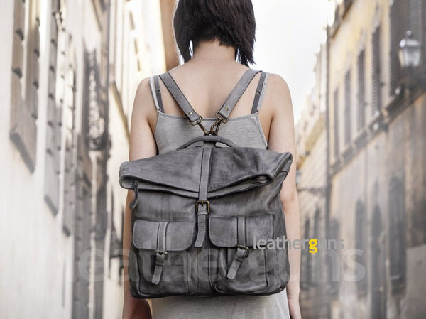 MARCO S LEATHER Convertible Backpack