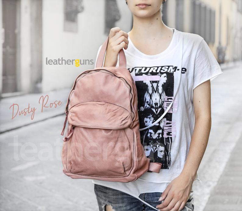 DOMENICA LEATHER BACKPACK