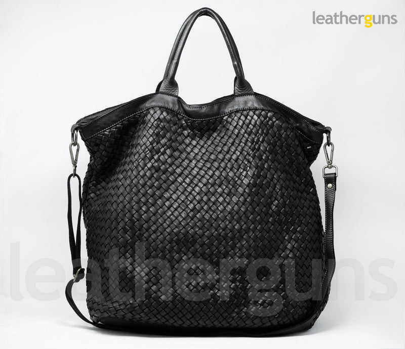 LUCIA LEATHER Handbag