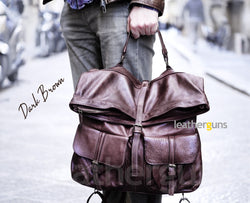MARCO LEATHER Convertible Backpack