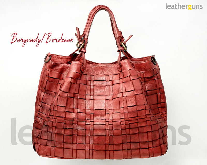 ANGELICA LEATHER HANDBAG